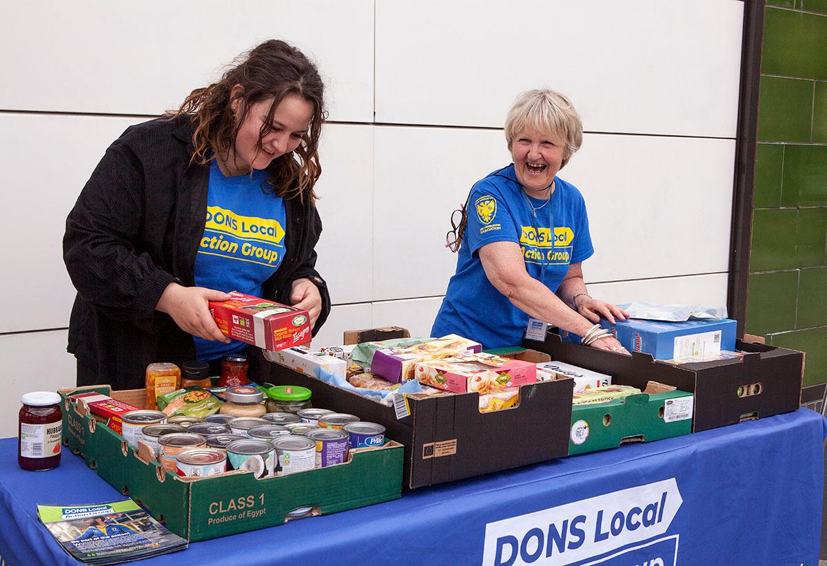 DLAG Smiley Volunteers