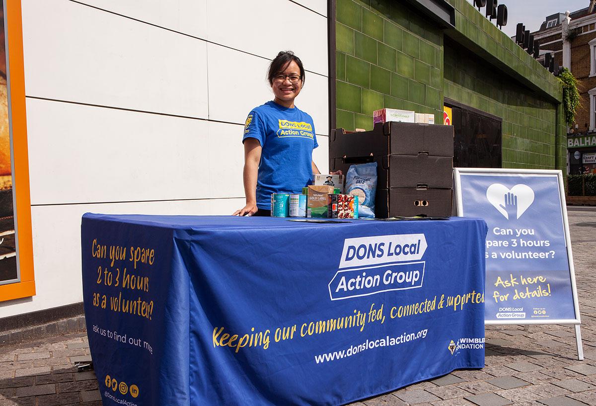 DLAG volunteer